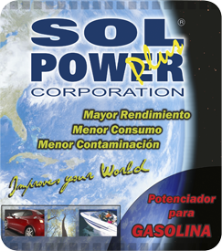 Sol Power Plus Gasolina